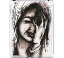 Charcoal portrait #1 iPad Case/Skin