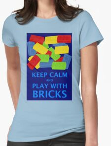 KEEP CALM AND PLAY WITH BRICKS T-Shirt