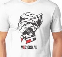 Chairman Meow Senior with MKC Logo Unisex T-Shirt