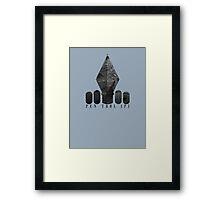 Pen Tool Framed Print