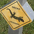 I HAVE MY OWN CROSSING SIGN by MsLiz