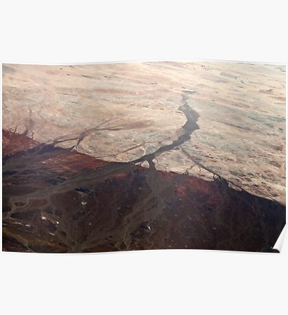 Marbled Landscape | Skeleton Coast Poster