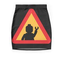 Minifig Triangle Road Traffic Sign Mini Skirt