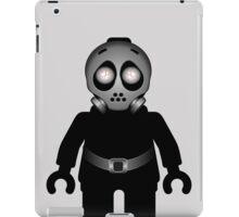 Zombie Apocalypse Hazmat Gas Mask Minifig iPad Case/Skin