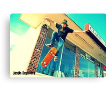 Justin. Reynolds Canvas Print
