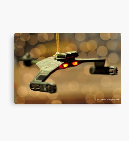 Klingon Battle Cruiser Canvas Print