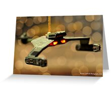 Klingon Battle Cruiser Greeting Card