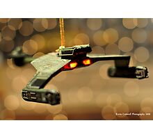Klingon Battle Cruiser Photographic Print