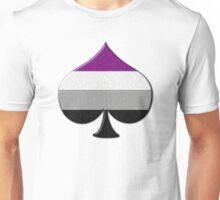Asexual Pride Ace Symbol Unisex T-Shirt