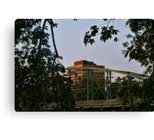 State Office Building Binghamton NY Canvas Print