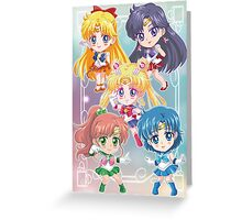 Sailor Moon Crystal Greeting Card