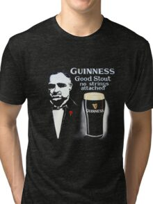 black glass of beer Tri-blend T-Shirt