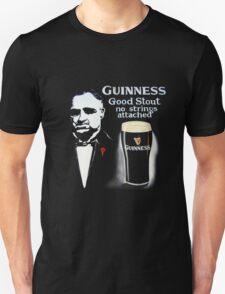 black glass of beer Unisex T-Shirt
