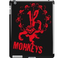 twelve monkeys 12 iPad Case/Skin