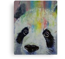Panda Rainbow Canvas Print