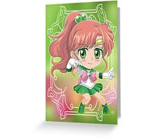 Chibi Sailor Jupiter Greeting Card