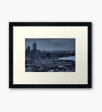 Gotham City. Framed Print