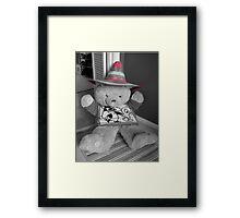 Sombrero Bear Framed Print
