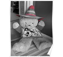 Sombrero Bear Poster