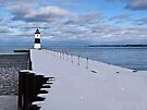 Winter On the Pier by Kathy Weaver