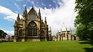 Lincoln Cathedral Panorama by Paul Thompson Photography
