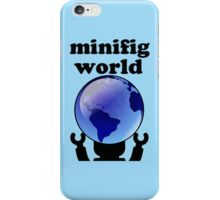 MINIFIG WORLD iPhone Case/Skin