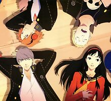 Persona 4- Cast by shinichick39