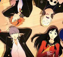 Persona 4- Cast by shinichick39