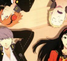 Persona 4- Cast Sticker