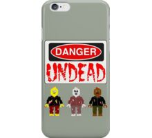 DANGER UNDEAD iPhone Case/Skin