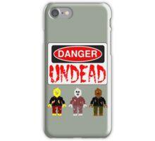 DANGER UNDEAD iPhone Case/Skin