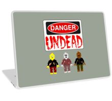 DANGER UNDEAD Laptop Skin