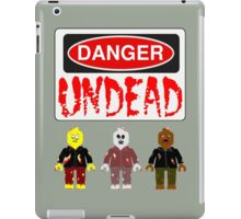DANGER UNDEAD iPad Case/Skin