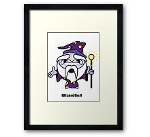 Wizard Ball Framed Print