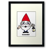 Gnome Ball Framed Print