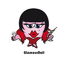 Glamour Ball Photographic Print