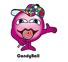 Candy Ball Photographic Print