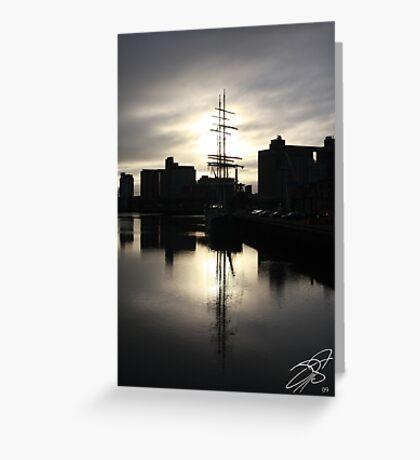 Cork Harbour Greeting Card