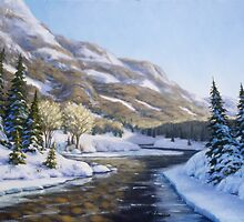 Landscape paintings by RickHansen