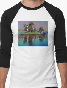 Monkey Island, Homosassa, Florida Men's Baseball ¾ T-Shirt