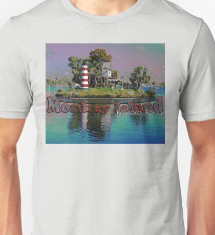 Monkey Island, Homosassa, Florida Unisex T-Shirt