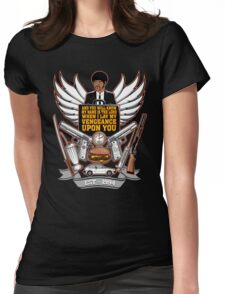 Pulp Heraldry Womens Fitted T-Shirt