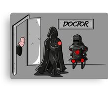 Doctor Sith Canvas Print