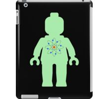 Minifig with Atom Symbol  iPad Case/Skin