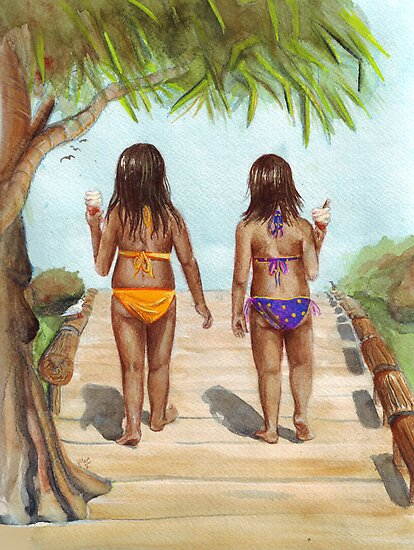 Girls of Summer by Sarah  Mac