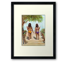 Girls of Summer Framed Print
