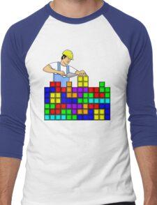 Brick Layer Men's Baseball ¾ T-Shirt