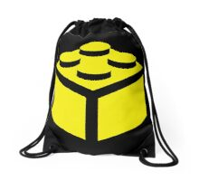 2 X 2 BRICK Drawstring Bag