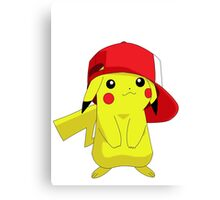 Cute Pikachu Canvas Print