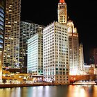 Chicago River - Greetings Everyone :-) by keleka656